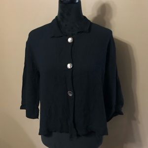 Chico's blouse top shirt shell buttons 1 M